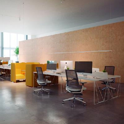 áreas negocio puestos de trabajo oficina